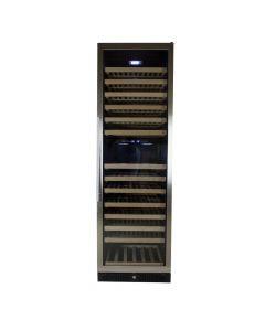 Wijnklimaatkast Premium met RVS glazen deur - 177 Flessen