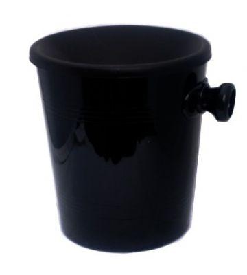 Spuwbak met handvat zwart - 1 liter