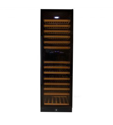 Wijnklimaatkast Premium met vol glazen deur - 177 Flessen