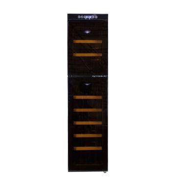 Wijnkoelkast Compact met 2 zones en een touch screen glazen deur - 18 Flessen