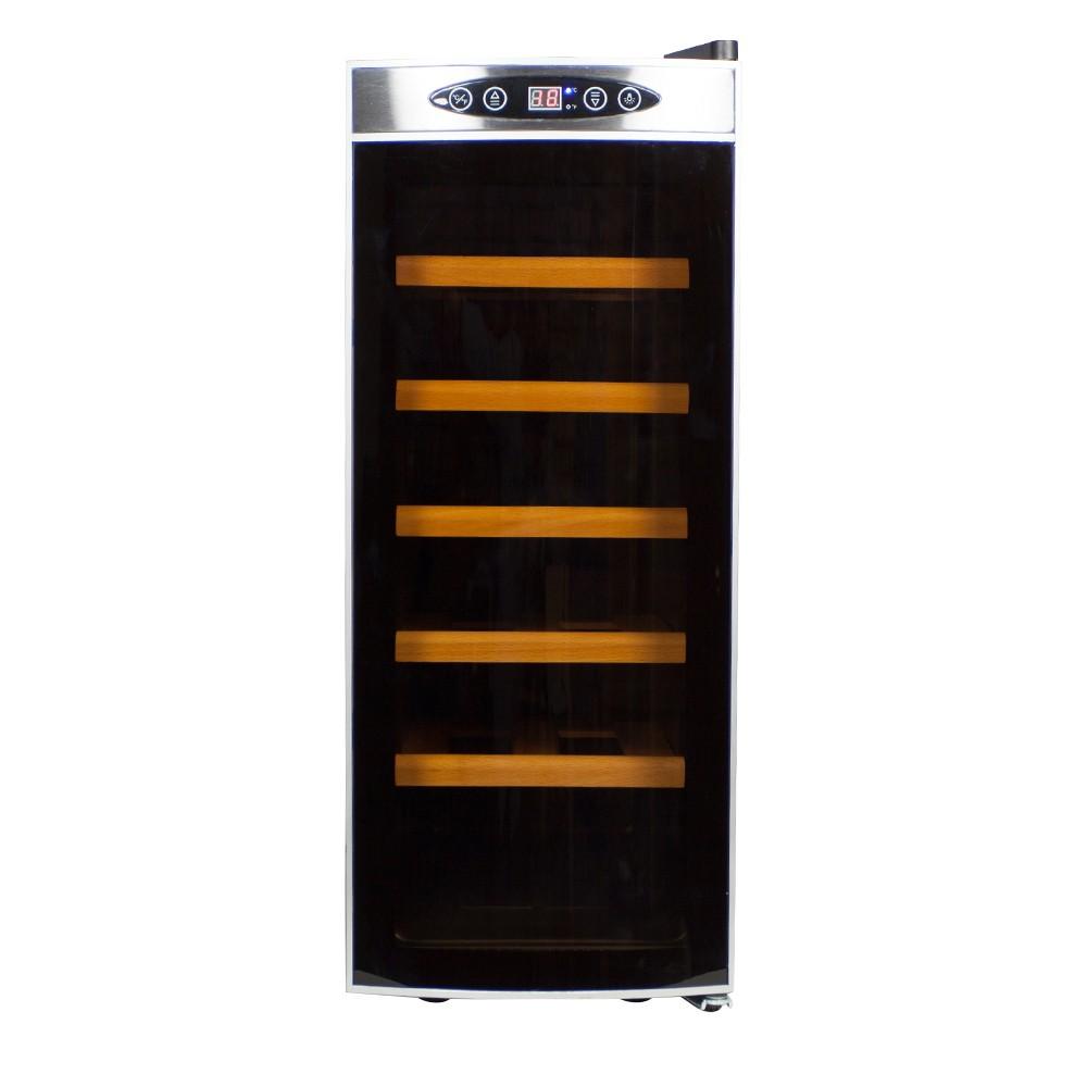 Afbeelding van Wijnklimaatkast Compact met Gebogen glazen deur - 12 Flessen