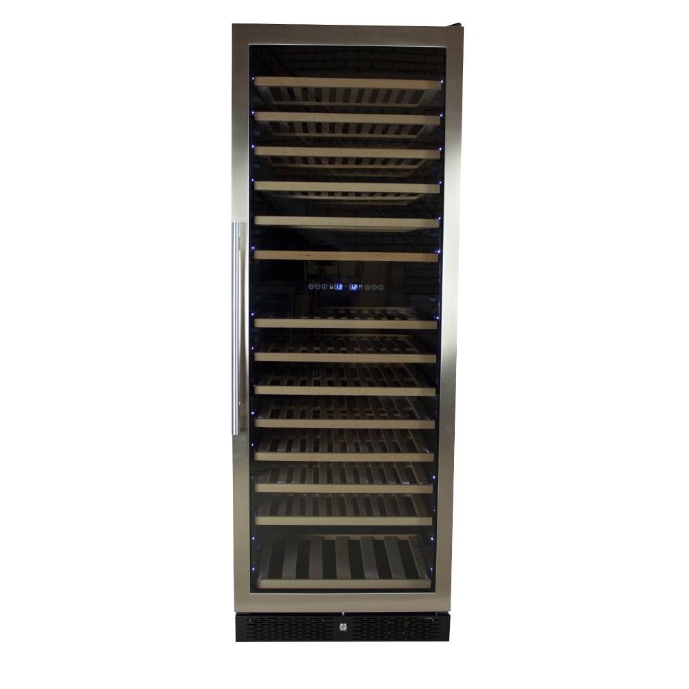 Afbeelding van Wijnklimaatkast Premium met RVS glazen deur - 154 Flessen